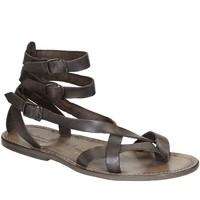 Schoenen Dames Sandalen / Open schoenen Gianluca - L'artigiano Del Cuoio 564 U FANGO CUOIO Fango