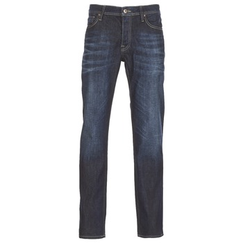 Textiel Heren Straight jeans Jack & Jones CLARK JEANS INTELLIGENCE Blauw / Brut
