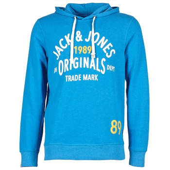 Textiel Heren Sweaters / Sweatshirts Jack & Jones ATHLETIC SWEAT ORIGINALS Blauw