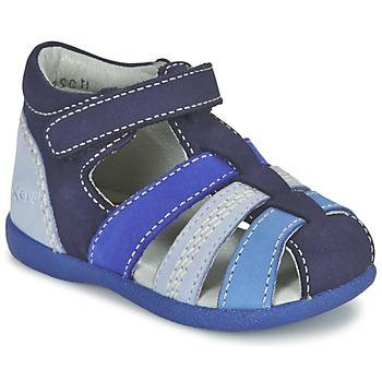Schoenen Jongens Sandalen / Open schoenen Kickers BABYSUN Marine / Blauw