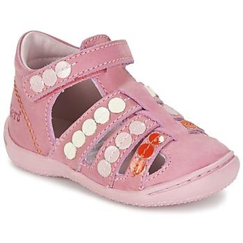 Schoenen Meisjes Sandalen / Open schoenen Kickers GIFT Roze