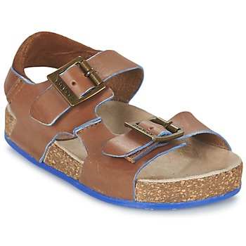 Schoenen Jongens Sandalen / Open schoenen Kickers NANTI Bruin