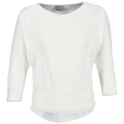 Textiel Dames T-shirts met lange mouwen Vero Moda MYBELLA Wit