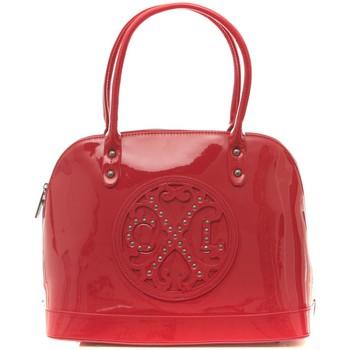 Tassen Dames Handtassen kort hengsel Christian Lacroix Sac Jonc Stud 8 rouge Rood