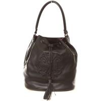 Tassen Dames Handtassen lang hengsel Christian Lacroix Sac Relief 13 noir Zwart