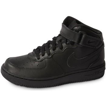 Schoenen Kinderen Sneakers Nike Air Force 1 Mid Enfant Noir