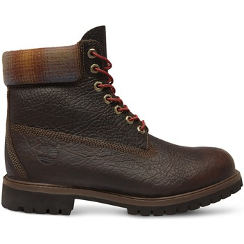 Schoenen Heren Laarzen Timberland Chaussures 6 In Premium Bt Brown  - Marron