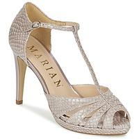 Schoenen Dames Sandalen / Open schoenen Marian CHANVRO Beige / Slang