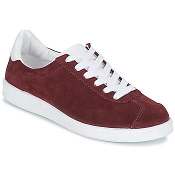 Schoenen Dames Lage sneakers Yurban EMARTI Bordeau