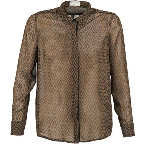Textiel Dames Overhemden Betty London EDINELLE Kaki