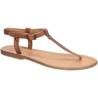 Schoenen Dames Sandalen / Open schoenen Gianluca - L'artigiano Del Cuoio 532 D CUOIO CUOIO Cuoio