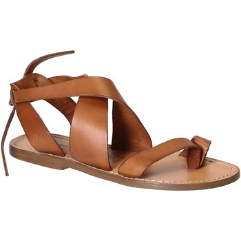Schoenen Dames Sandalen / Open schoenen Gianluca - L'artigiano Del Cuoio 571 D CUOIO CUOIO Cuoio