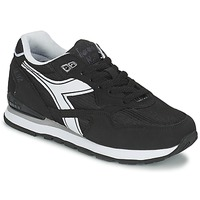 Schoenen Lage sneakers Diadora N-92 Zwart / Wit