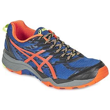 Schoenen Heren Running / trail Asics GEL-FujiTrabuco 5 Blauw