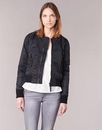 Textiel Dames Wind jackets Schott BOMBER BY SCHOTT Zwart
