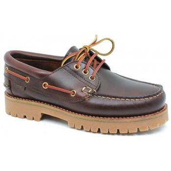 Schoenen Heren Bootschoenen CallagHan mod.21910 Marrón Marrón