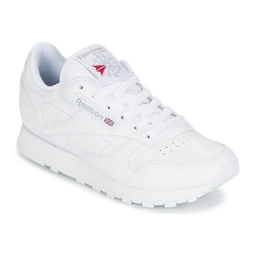 Schoenen Dames Lage sneakers Reebok Classic CLASSIC LEATHER Wit