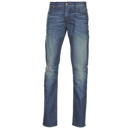 Textiel Heren Skinny jeans 7 for all Mankind RONNIE ELECTRIC MIND Blauw / Medium