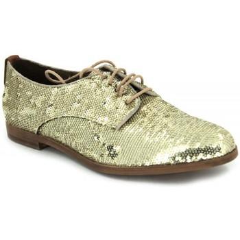 Schoenen Dames Derby Elvio Zanon B-0601-X goud