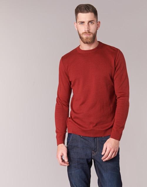 Textiel Heren Truien BOTD ELABASE ROUND Rood