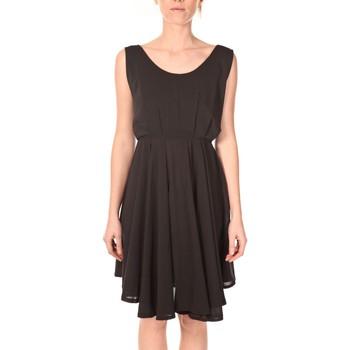 Textiel Dames Korte jurken Aggabarti Aggarbati Robe Bretelles 121084 Noir Zwart