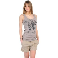 Textiel Dames Mouwloze tops Rich & Royal T-shirt 11q436 Beige Beige