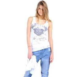 Textiel Dames Mouwloze tops Rich & Royal Débardeur 11q435 Blanc Wit