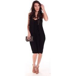 Textiel Dames Korte jurken Rich & Royal Robe 11Q663 Zwart