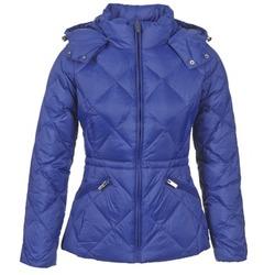 Textiel Dames Dons gevoerde jassen Benetton FOULI Blauw