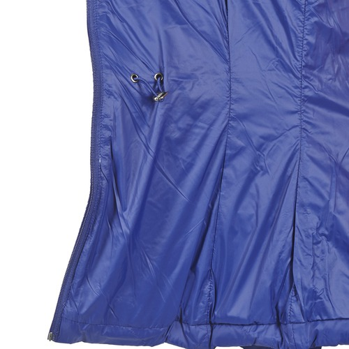 Benetton Fouli Blauw - Gratis Levering Textiel Dons Gevoerde Jassen Dames 10320