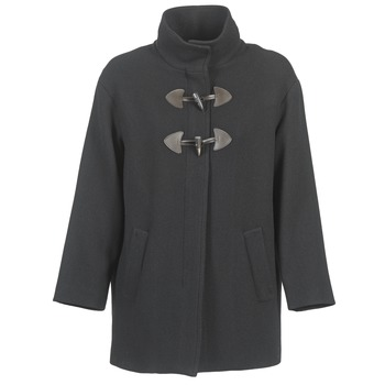 Textiel Dames Mantel jassen Benetton DILO Zwart