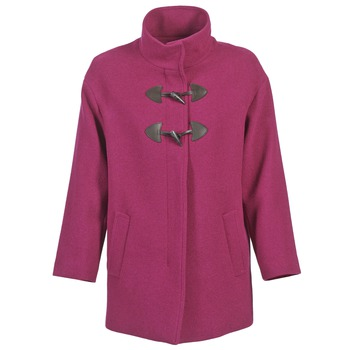 Textiel Dames Mantel jassen Benetton DILO Roze