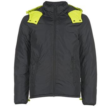 Textiel Heren Dons gevoerde jassen Benetton CUFU Zwart