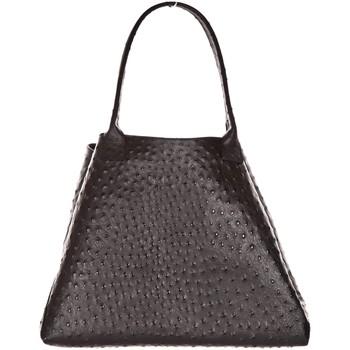 Tassen Dames Handtassen kort hengsel Very Bag Street Sac valise  SOLEIL BLEU Noir Zwart