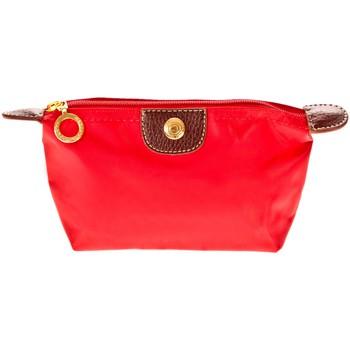 Tassen Dames Tasjes / Handtasjes Very Bag Street Pochette couleur unie W-25 Rouge Rood