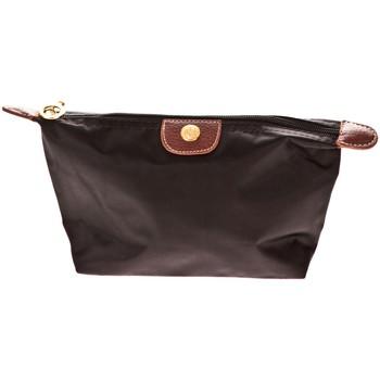 Tassen Dames Tasjes / Handtasjes Very Bag Street Pochette couleur unie W-26 Noire Zwart