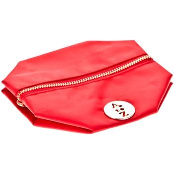 Tassen Dames Tasjes / Handtasjes Very Bag Street Pochette besace bouton doré Rouge Rood