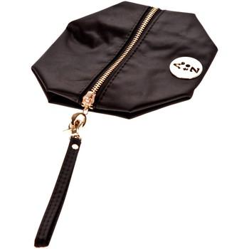 Tassen Dames Tasjes / Handtasjes Very Bag Street Pochette besace bouton doré Noire Zwart
