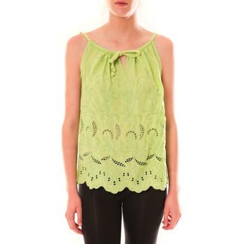 Textiel Dames Mouwloze tops Dress Code Debardeur HS-1019  Amande Groen