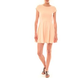 Textiel Dames Korte jurken La Vitrine De La Mode Robe LC-0421 By La Vitrine Rose Roze