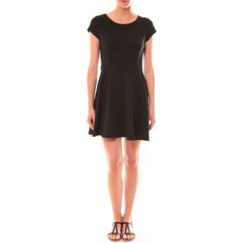 Textiel Dames Korte jurken La Vitrine De La Mode Robe LC-0421 By La Vitrine Noire Zwart