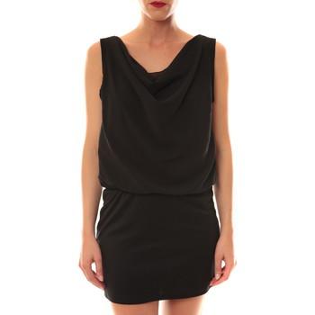 Textiel Dames Korte jurken La Vitrine De La Mode Robe 157 By La Vitrine Noire Zwart