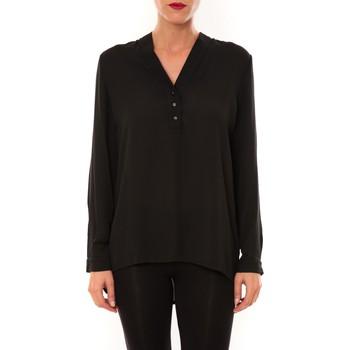 Textiel Dames Tops / Blousjes La Vitrine De La Mode By La Vitrine Blouse M3060 noir Zwart