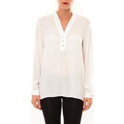 Textiel Dames Tops / Blousjes La Vitrine De La Mode By La Vitrine Blouse M3060 blanc Wit