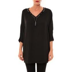 Textiel Dames Tunieken La Vitrine De La Mode By La Vitrine Tunique LW15002 noir Zwart