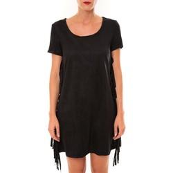 Textiel Dames Korte jurken De Fil En Aiguille Robe MA8495 noir Zwart