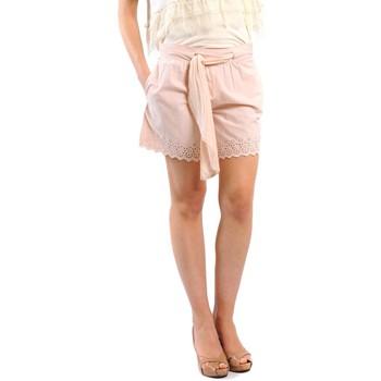 Textiel Dames Korte broeken / Bermuda's Gat Rimon SHORT OSCAR PIVOINE Roze