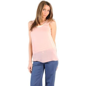Textiel Dames T-shirts korte mouwen Gat Rimon TOP SALLI AGATE Blauw