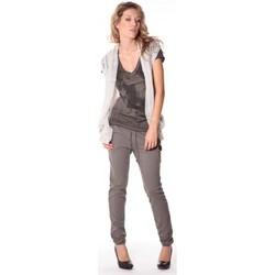 Textiel Dames Vesten / Cardigans Rich & Royal Rich&Royal Gilet mohair ABBA Gris 13q154/114 Grijs