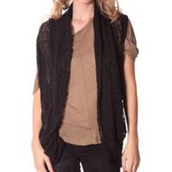Textiel Dames Vesten / Cardigans Rich & Royal Rich&Royal Gilet mohair ABBA Noir 13q154/114 Zwart